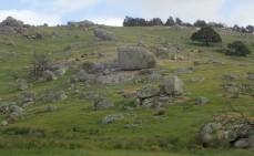 Rocky terrain in North Central Victoria