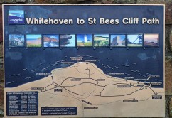 Whitehaven to St Bees route