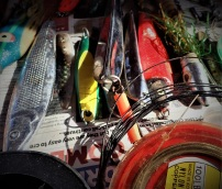 Tackle box cleaning