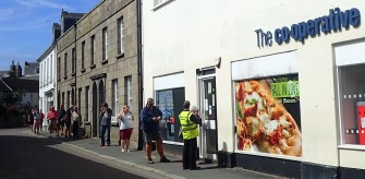 Social distancing St Mary's Co-op