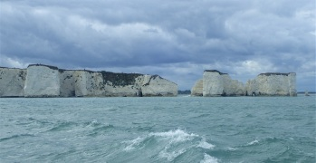 """Old Harry"" and his Wife, Studland Bay"