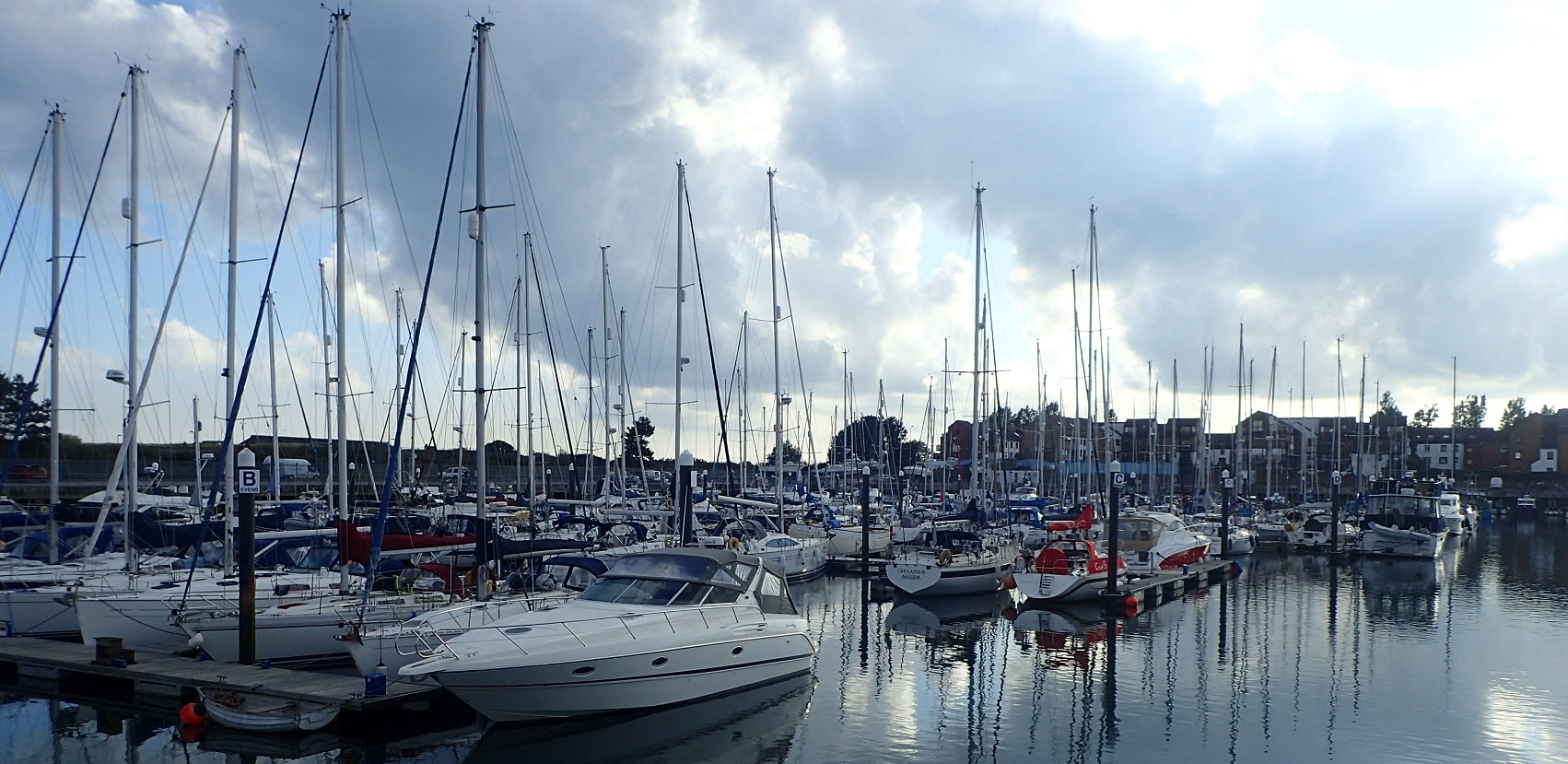 Our winter home - Southsea Marina