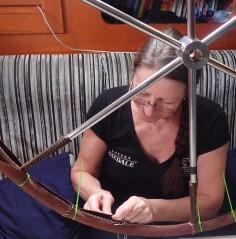 Repairing wheel cover